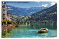 Zell am See, Acrylic Print
