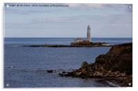 St Mary's Island from Old Hartley (2), Acrylic Print