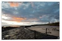 Cullercoats Bay sunrise, Acrylic Print