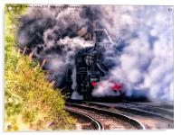 Steam On, Acrylic Print