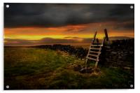 The stile, Acrylic Print