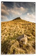 The Crest of Crook Hill, Acrylic Print