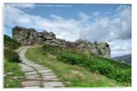 The Cow and Calf Ilkley , Acrylic Print