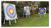 Concept: Too many targets no Focus, Acrylic Print