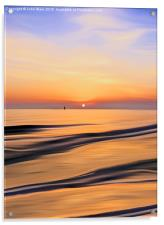 Sunset in the Bay, Acrylic Print