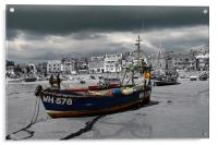 WH578 at St Ives, Cornwall, Acrylic Print