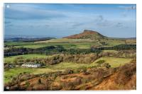 Roseberry Topping, Acrylic Print