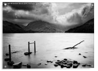 Buttermere storm, Acrylic Print