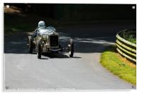 1929 Frazer Nash Hartley at Prescott, Acrylic Print