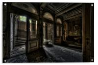 Mansion le ghoul, Acrylic Print