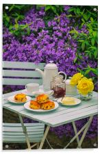 Devon Cream Tea, Acrylic Print