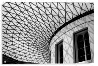 Roof of British Museum, Acrylic Print