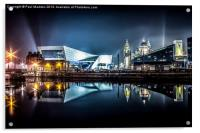 Museum Of Liverpool And Liver Building, Acrylic Print