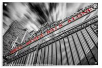The Shankly Gates - Anfield, Acrylic Print
