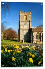 St Marys Church, Chard, Somerset, Acrylic Print