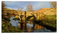 Slippery Stones Packhorse Bridge, Acrylic Print