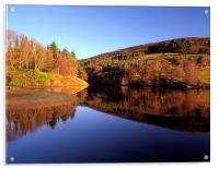 Ladybower Reflections, Acrylic Print