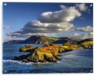 Watermouth Cove, North Devon , Acrylic Print