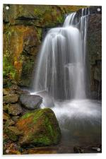 Lumsdale Falls , Acrylic Print