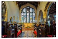 St James Church Interior, Norton, Sheffield , Acrylic Print