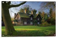 Arbourthorne Cottages , Acrylic Print