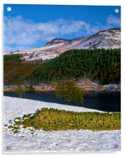 Ladybower during Winter, Acrylic Print
