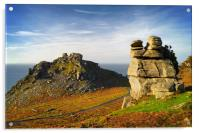 Valley of the Rocks                        , Acrylic Print