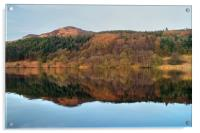 Ladybower Reflections , Acrylic Print