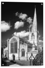 The Church of St Mary and All Saints, Chesterfield, Acrylic Print