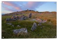 Stowes Hill on Bodmin Moor , Acrylic Print