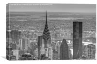 Chrysler building, New York City , Canvas Print