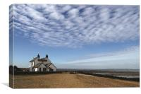 Whitstable sea front, Canvas Print