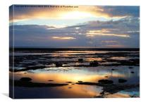 Bembridge Dawn, Canvas Print