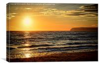 Sea Sunset, Canvas Print