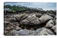 Number One Rock Pool, Canvas Print
