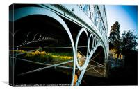 Linlathen Bridge, Canvas Print