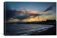 Broughty Ferry Harbour, Canvas Print