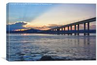 Dundee Sunset, Canvas Print