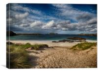 Bosta Beach, Isle of Lewis, Canvas Print
