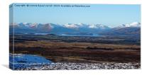 Loch Lomond from the Whangie / Queens View, Canvas Print