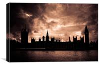 Westminster, Canvas Print
