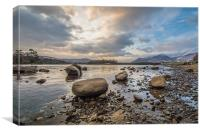 Derwent Water, Canvas Print