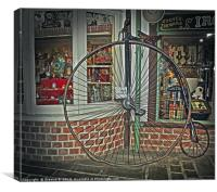 Penny Farthing, Canvas Print
