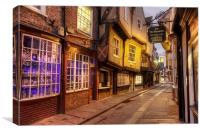 York Shambles, Canvas Print