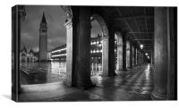 The Arches, St Marks Square, Venice, Canvas Print