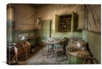 Tom Miller House - Bodie Ghost Town, Canvas Print