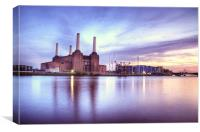 Battersea Power Station, Canvas Print