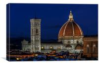 Florence Catherdal, Canvas Print