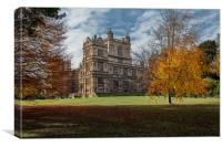 Wollaton Hall Nottingham, Canvas Print