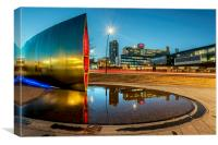 Sheffield Reflections, Canvas Print